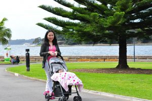 Strolling around Royal Botanical Garden