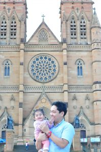 At St. Mary's Cathedral