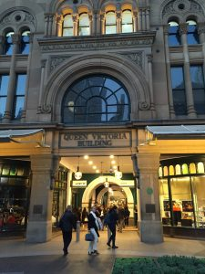 Queen Victoria Building, a high-end mall